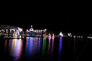 Christmas Lights At The Coeur d'Alene Resort<br /> Coeur d' Alene Idaho