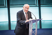 Holocaust Memorial Day <br /> A ceremony to commemorate Holocaust Memorial Day in a ceremony in the Chamber at City Hall, London, Great Britain<br /> 22nd January 2018 <br /> <br />  <br /> Mayor and Assembly join Londoners for Holocaust Memorial Day ceremony<br />  <br /> Manfred Goldberg<br /> Holocaust Survivor