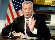 NYC: Mayor De Blasio Speaks On Trump's Election, 11 Nov. 2016