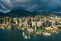 Honolulu City Centre & Honolulu Harbour