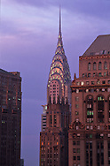 New York. elevated view.  . the CHRYSLER building Manhattan  New york  United States