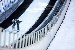 Dominik Peter (SUI) during the 1st Round of the Ski Flying Hill Individual Competition at Day 2 of FIS Ski Jumping World Cup Final 2019, on March 22, 2019 in Planica, Slovenia.  Photo by Matic Ritonja / Sportida