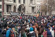 Manifestación estudiantil, Santiago de Chile Junio 2013.