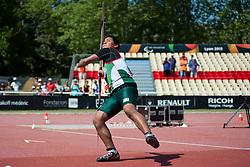 ELIEZER Gabriel, MEX, Javelin, F46, 2013 IPC Athletics World Championships, Lyon, France