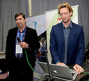 Spala 17/11/2014<br /> Konferencja trener&oacute;w szkolenia olimpijskiego<br /> Na zdj. Stephane Antiga oraz Philip Blain<br /> Fot. Piotr Hawalej