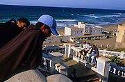 Sidi Ifni, Spain's colony until 1969. Colonial buildings.