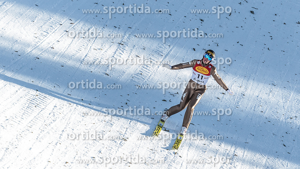 30.01.2016, Casino Arena, Seefeld, AUT, FIS Weltcup Nordische Kombination, Seefeld Triple, Skisprung, Wertungssprung, im Bild Samuel Costa (ITA) // Samuel Costa of Italy competes during his Competition Jump of Skijumping of the FIS Nordic Combined World Cup Seefeld Triple at the Casino Arena in Seefeld, Austria on 2016/01/30. EXPA Pictures © 2016, PhotoCredit: EXPA/ JFK