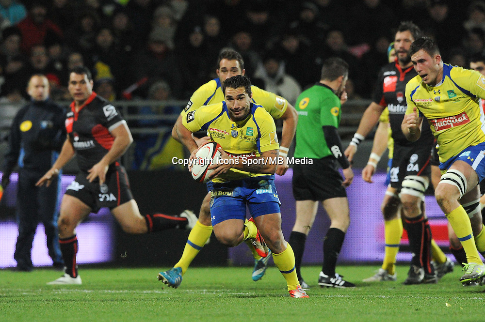 Ludovic Radosavljevic - 28.12.2014 - Lyon Olympique / Clermont - 14eme journee de Top 14 <br />
