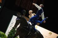 Mary Garrett, Kristian Roberts, (USA), Diva 506, Carolyn Bland - Pas de Deux Vaulting - Alltech FEI World Equestrian Games&trade; 2014 - Normandy, France.<br /> &copy; Hippo Foto Team - Jon Stroud<br /> 04/09/2014
