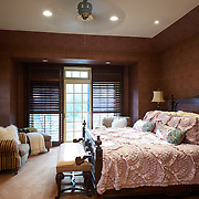 CHERRY HILL, NJ - DECEMBER 23, 2016: The master bedroom suite on the second floor has a private door to an elevated section of the back yard with fire pit an en suite master bath and walk in closet. 9 Gwen Court, Cherry Hill, NJ. Credit: Albert Yee for the New York Times