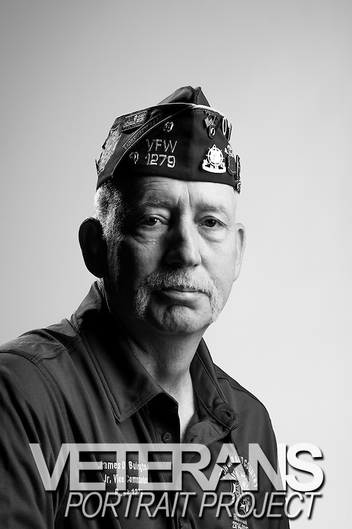 James D. Bulington<br /> Army<br /> E-6<br /> Truck Driver<br /> May 2006 - Aug. 2009<br /> OIF<br /> <br /> Veterans Portrait Project<br /> St. Louis, MO