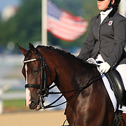 Clara Cummiskey and Queens Delilah at the 2010 North American Young Rider Championships in Lexington, Kentucky.