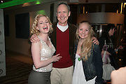 Helen Dallimore,Nigel Planer and Kerry Ellis, Cast change for Wicked. Apollo Victoria theatre. After party at Park Plaza Victoria. 12 April 2007.  -DO NOT ARCHIVE-© Copyright Photograph by Dafydd Jones. 248 Clapham Rd. London SW9 0PZ. Tel 0207 820 0771. www.dafjones.com.