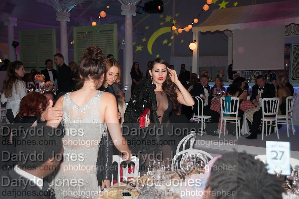 ELIZA DOOLITTLE; JULIAN MACDONALD; GRACE WOODWARD, Grey Goose Winter Ball to benefit the Elton John Aids Foundation. Battersea Power Station. London. 10 November 2012.