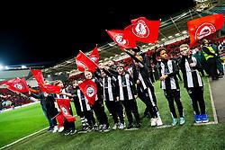 Flagbearers - Rogan/JMP - 12/02/2020 - Ashton Gate Stadium - Bristol, England - Bristol City v Derby County - Sky Bet Championship.