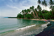 Black Sand Beach, Solomon Islands
