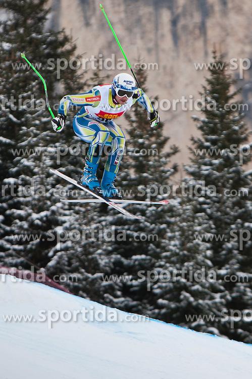 15.12.2011, Saslong, Groeden, ITA, FIS Weltcup Ski Alpin, Herren, 2. Training Abfahrt, im Bild Bostjan Kline (SLO) // Bostjan Kline of Slovenia during 2th practice session men's downhill at FIS Ski Alpine Worldcup at Saslong in Groeden, Italy on 2011/12/15. EXPA Pictures © 2011, PhotoCredit: EXPA/ Johann Groder
