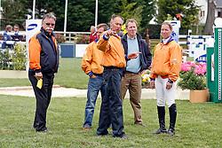 Ehrens Rob, Schroder Gerco, Hoorn Angelique<br /> CSIO La Baule 2007<br /> Photo © Hippo Foto