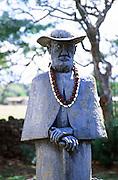 Father Damien Statue, Molokai, Hawaii