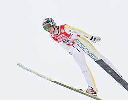 17.12.2011, Casino Arena, Seefeld, AUT, FIS Nordische Kombination, Probedurchgang, Ski Springen, im Bild Jan Schmid (NOR) // Jan Schmid of Norway during the trial round ski jumping at FIS Nordic Combined World Cup in Sefeld, Austria on 20111211. EXPA Pictures © 2011, PhotoCredit: EXPA/ P.Rinderer
