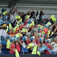DEN HAAG - Rabobank Hockey World Cup<br /> 30 Argentina - China<br /> Foto: Argentina fans.<br /> COPYRIGHT FRANK UIJLENBROEK FFU PRESS AGENCY