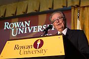 Dr. Philip Tumminia Henry Rowan Statue Unvailing at Rowan University in Glassboro, NJ on Thursday December 13, 2012. (photo / Mat Boyle)