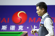World Snooker Shanghai Masters, Sept 2018