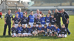 Westport'sMini Rugby U10 Squad pictured at the Junior Cup final where they played a halftime match against Monivea U10's.<br /> Pic Conor McKeown