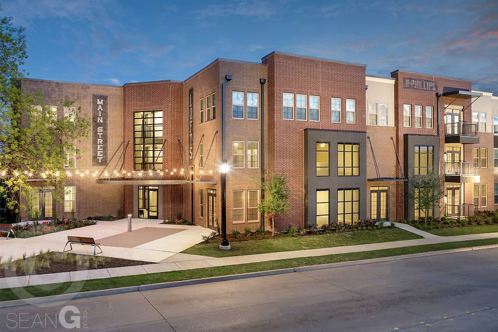 Main Street Lofts Apartment Community, Mansfield, Texas