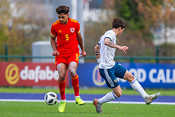 CARDIFF, WALES - Saturday, November 16, 2019: Wales' Christian Norton during the UEFA Under-19 Championship Qualifying Group 5 match between Russia and Wales at the Cardiff International Sports Stadium. (Pic by Mark Hawkins/Propaganda)