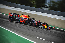 May 12, 2019 - Barcelona, Catalonia, Spain - MAX VERSTAPPEN (NED) from team Red Bull drives in his RB15 during the Spanish GP at Circuit de Catalunya (Credit Image: © Matthias Oesterle/ZUMA Wire)