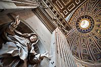 Roma - Basilica di San Pietro in Vaticano - Interni