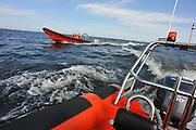 Nederland, Urk, 25-8-2011Redding en hulpverlening op het ijsselmeer.Foto: Flip Franssen/Hollandse Hoogte
