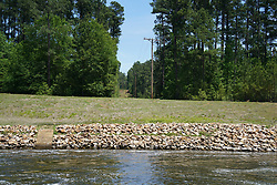 Flowing Spillway