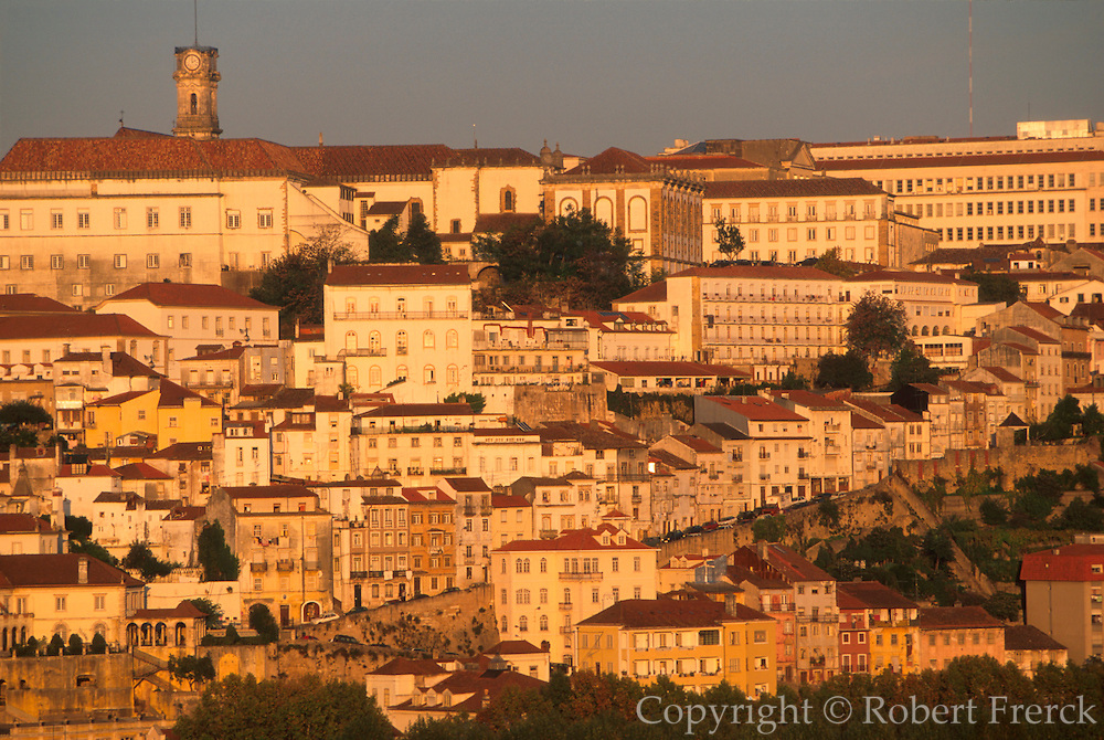 PORTUGAL, COIMBRA Portugal's oldest University; skyline