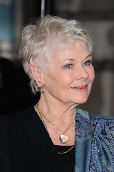 Judi Dench nominated  best leading actress for the Oscars 2014.<br /> Dame Judi Dench  at The Best Exotic Marigold Hotel  premiere held in London, Tuesday 7th February 2012. Photo by: i-Images