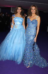 Left to right, MISS SOPHIE KRISTENSEN and her mother designer ISABELL KRISTENSEN at The British Red Cross London Ball - H2O The Element of Life, held at The Room by The River, 99 Upper Ground, London SE1 on 17th November 2005.<br /><br />NON EXCLUSIVE - WORLD RIGHTS