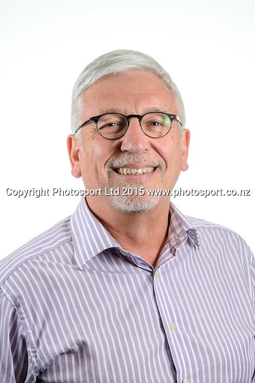 John Gallaher, Basketball New Zealand Board Portraits, Wellington, New Zealand. Thursday 12 February 2015. Copyright Photo: Mark Tantrum/www.Photosport.co.nz