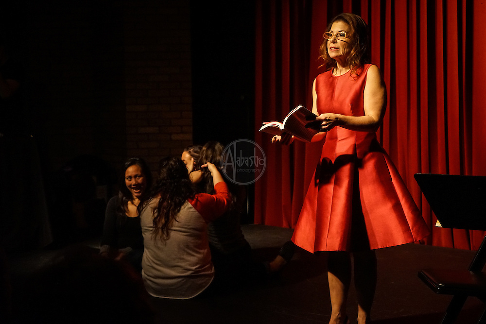 """Nothing Ever Goes On Here"" book launch with author Ellen Newhouse at Georgetown Ballroom."
