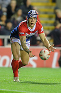 Theo Fages of France during the International Friendly match at Leigh Sports Village, Leigh<br /> Picture by Steve McCormick/Focus Images Ltd 07545 862647<br /> 17/10/2018