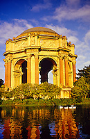 Palace of Fine Arts, San Francisco, California USA