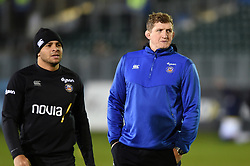 Bath Director of Rugby Stuart Hooper looks on during the pre-match warm-up - Mandatory byline: Patrick Khachfe/JMP - 07966 386802 - 06/12/2019 - RUGBY UNION - The Recreation Ground - Bath, England - Bath Rugby v Clermont Auvergne - Heineken Champions Cup