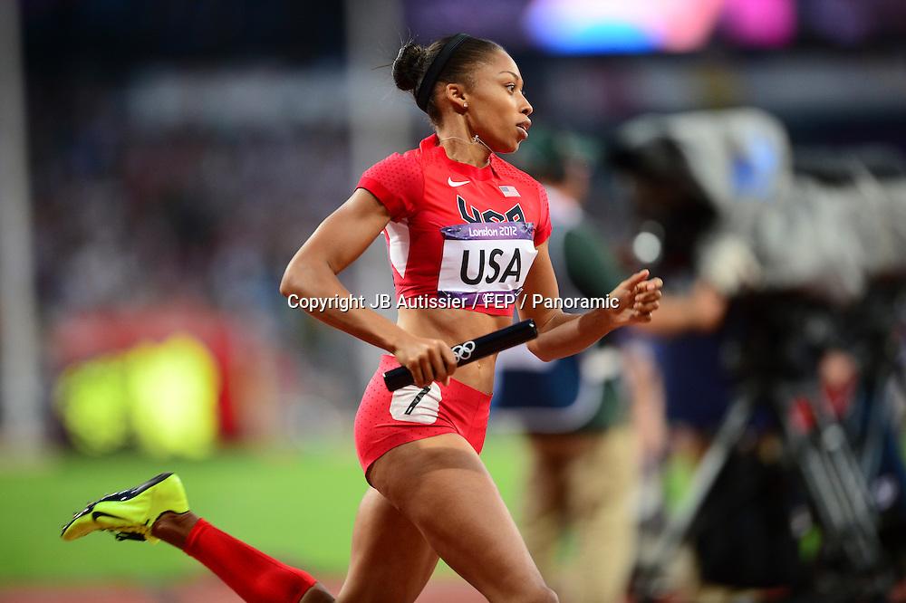 Allyson Felix (usa) - finale 4x400m femmes relais