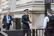 UNITED KINGDOM, London: 23 March 2017 Metropolitan Police senior anti-terror officer Mark Rowley arrives at Downing Street this morning after a terror attack which killed four people including the attacker in Westminster yesterday. Rick Findler / Story Picture Agency
