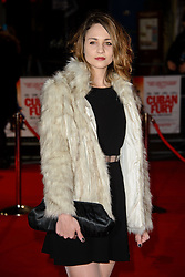 Tuppence Middleton attends The World Premiere of 'Cuban Fury'. Leicester Square, London, United Kingdom. Thursday, 6th February 2014. Picture by Chris Joseph / i-Images