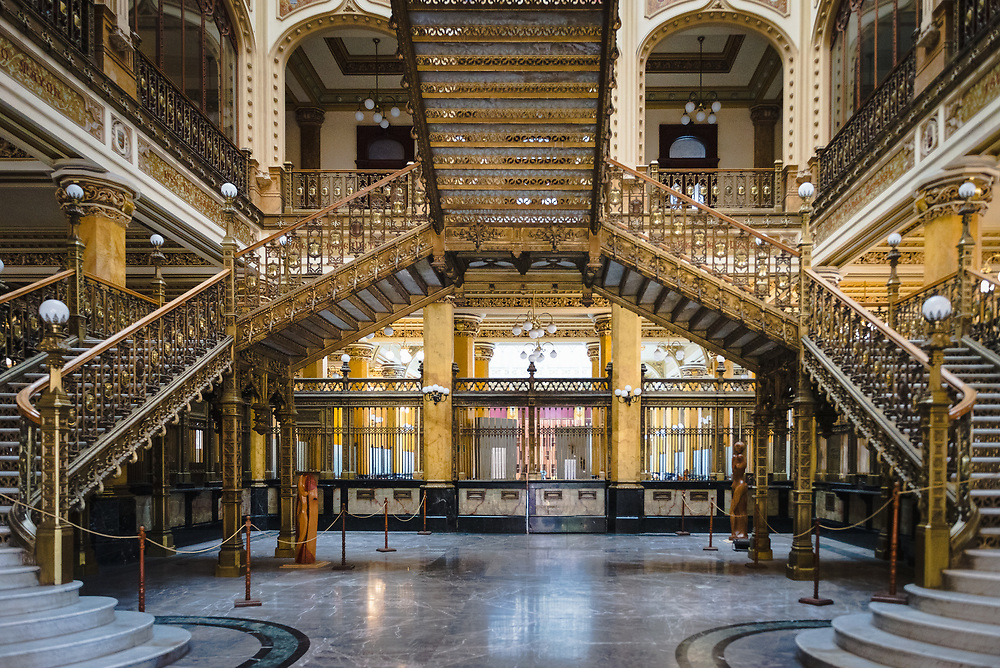 Interior of Palacio de Correos de Mexico