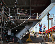 """Construction du """"MSC DIVINA"""" (U32) / Chantiers navals de Saint-Nazaire"""