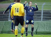 Fotball, 13. mai 2003, NM fotball herrer, Strømsgodset-Bærum, Kim Larsen, Strømsgodset