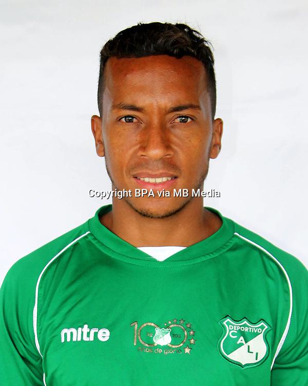 Colombia League - Postobom Liga 2014-2015 -<br /> Asociacion Deportivo Cali - Colombia / <br /> Víctor Giraldo