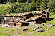 Visit the farm museum of Rygnestadtunet (at Nordigard, in Nørdre Rygnestad, near Valle, Setesdal, Aust-Agder County, Norway) to admire a unique 1590 three-story storehouse, a farmhouse with open-hearth room dating from before the Black Death (1349-50), and 15th century painted textiles.